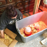 Moving chicks to the brooder | Little Red Farmstead