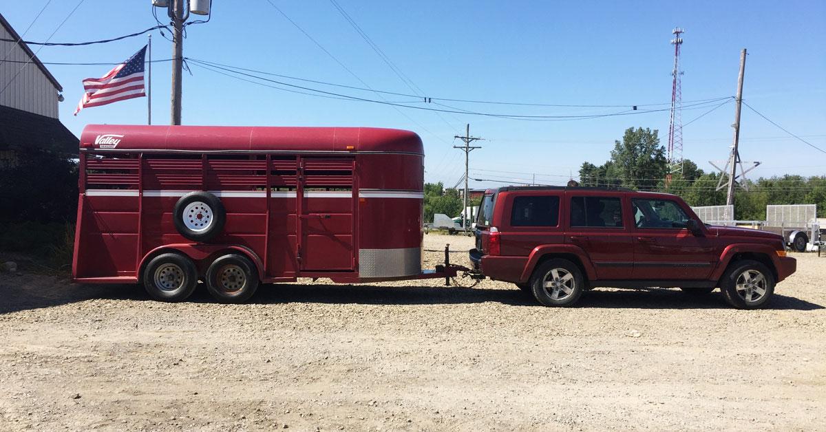 Jeep & trailer